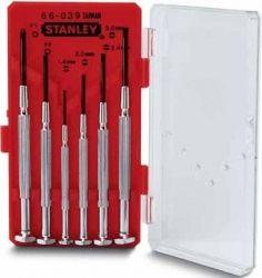 """Набор Stanley отверток точной механики """"Watchmaker"""" 6шт."""
