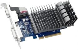 Видеокарта GeForce GT710, Asus, 2Gb DDR3, 64-bit, VGA/DVI/HDMI, 954/1800MHz, Silent (710-2-SL)