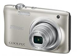 Цифровая камера NIKON Coolpix A100 Серебристый