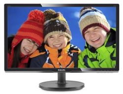 "Монитор TFT PHILIPS 19.5"" 206V6QSB6/62 16:10 IPS VGA Black"