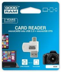 Кардридер GOODRAM USB microSD Card reader microSD кардридер USB
