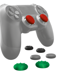 Комп.аксесcуары TRUST Thumb Grips 8-pack for PlayStation 4 controllers