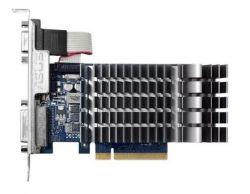 Видеокарта Asus PCI-Ex GeForce GT 710 1024MB DDR3 (64bit) (954/1800) (VGA, DVI, HDMI) (710-1-SL)