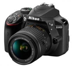 Аппараты цифровые NIKON D3400 Kit 18-55 VR AF-P