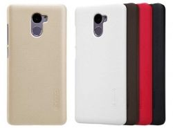 Чехол для сматф. NILLKIN Xiaomi Redmi 4 - Frosted Shield (Черный)