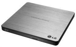 DVD-RW LG GP60NS60 Slim USB 2.0 Silver Retail (External)