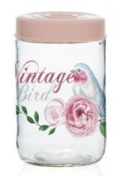 Банка HEREVIN Vintage Birds 0.66 л (171441-050)