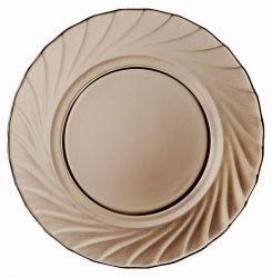 Тарелка LUMINARC ОКЕАН ЭКЛИПС /19.6 см/десерт. (L5080/1)