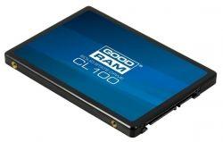 """Твердотельный накопитель 120Gb, Goodram CL100, SATA3, 2.5"""", TLC, 550/500 MB/s (SSDPR-CL100-120)"""