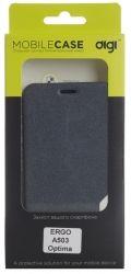 Чехол для сматф. DIGI ERGO A503 Optima - Cover book (Черынй)