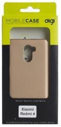 Чехол для сматф. DIGI Xiaomi Redmi 4 - Soft touch PC (Золотистый)