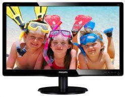 """Монитор TFT PHILIPS 19.53"""" 200V4QSBR/01 16:9 MVA FullHD DVI Black"""