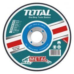 Акс.инстр TOTAL TAC2211152 Круг отрезной по металлу, 115х3.2х22.2мм.