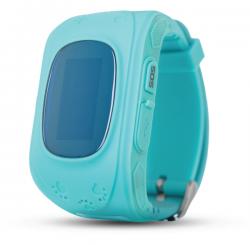 Смарт часы ERGO GPS Tracker Kid`s K010 - Детский трекер (Синий)
