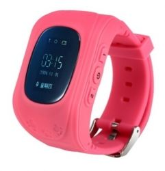 Смарт часы ERGO GPS Tracker Kid`s K010 - Детский трекер (Розовый)