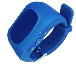 Смарт часы ERGO GPS Tracker Kid`s K010 - Детский трекер (Dark Blue)