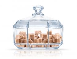 Сахарница LUMINARC OCTIME с крышкой, в упаковке (N7061)