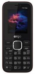 Мобильный телефон ERGO F181 Step Dual Sim (черный)
