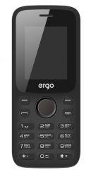 Мобильный телефон ERGO F182 Point Dual Sim (черный)