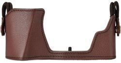 сумка OLYMPUS CS-51В Body Jacket для E-M10 Mark III сумка коричневый