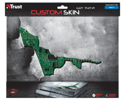 Комп.аксесcуары TRUST GXT 747-P Сustom Skin for PS4