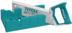 Ножовка TOTAL  THT59126 11 зубьев на дюйм, длина 300мм + стусло