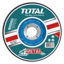 Акс.инстр TOTAL  TAC2211253 Круг отрезной по металлу, 125х1.2х22.2м