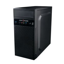 Комп.корпус LOGICPOWER 6101 без БП MATX USB 3.0 Black