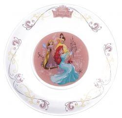 детск.  DISNEY Принцессы /тарелка дес. 19.6 см (16с1914 4ДЗ Принц.)