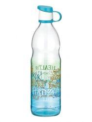 Бутылка RENGA Letra BLUE /1 л д/воды стекло (151924 B)