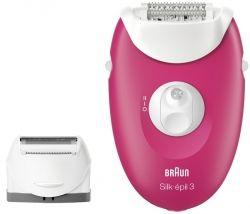 Эпилятор BRAUN Електр епiлятор Silk_epil 3 SE 3-410