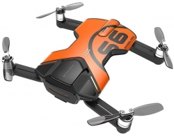 Wingsland S6 GPS 4K Pocket Drone-2 Batteries pack (Orange)