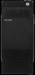 "Корпус LogicPower 2008 Black, 400W 80mm, ATX, mATX, Flex-ATX Midi-Tower, 2xUSB2.0, Audio, 4x5,25"", 1x3,5"", 5xHDD, 7xPCI"