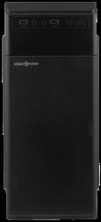 "Корпус LogicPower 2002 Black, 400W 80mm, ATX, mATX, Flex-ATX Midi-Tower, 2xUSB2.0, Audio, 4x5,25"", 1x3,5"", 5xHDD, 7xPCI"