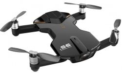 Wingsland S6 GPS 4K Pocket Drone-2 Batteries pack (Black)