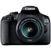 Аппараты цифровые CANON EOS 2000D 18-55 IS