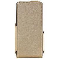 Чехол для сматф. Red Point ERGO B504/505/ Bravis 509 - Flip case (Gold)