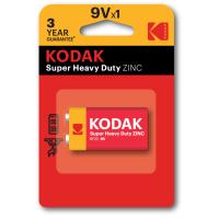 Батарейка KODAK  EXTRA HEAVY DUTY 6F22 1 шт. блистер