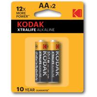 Батарейка KODAK XTRALIFE LR06 1x2 шт. блистер