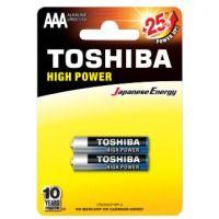 Батарейка TOSHIBA LR03 HP Alkaline BP 1X2