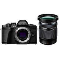 Цифровая камера OLYMPUS E-M10 mark III 12-200 Kit черный/черный