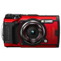 Цифровая камера OLYMPUS TG-6 красный (Waterproof - 15m; GPS; 4K; Wi-Fi)