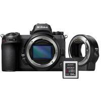 Цифровая камера NIKON Z 6 + FTZ Adapter Kit + 64 GB XQD