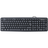 Клавиатура DEFENDER (45522)Element HB-520 USB B черная