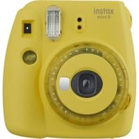 Фотокамера FUJI Instax Mini 9 CAMERA SMO CLEAR YELLOW EXD Желтый