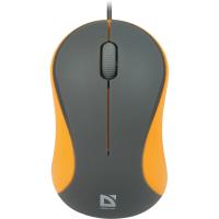 Мышь DEFENDER (52971)Accura MS-970 серый+оранж