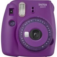 Фотокамера FUJI Instax Mini 9 CAMERA SMO CLEAR PURPLE EXD ФИОЛЕТОВЫЙ