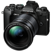 Цифровая камера OLYMPUS E-M5 mark III 12-200 Kit черный/черный