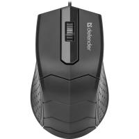 Мышь DEFENDER Hit MB-530 черная, 3 кнопки, 1000DPI
