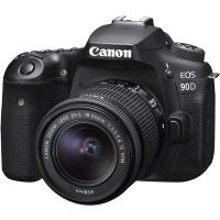 Аппараты цифровые CANON EOS 90D + 18-55 IS STM
